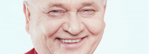 Middle age man smiling image