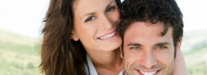 Couple smiling image