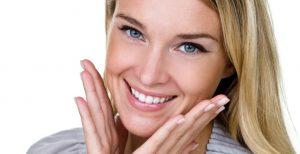 woman with nice smile image