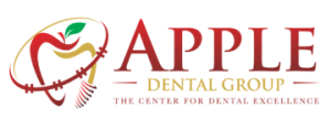 Apple dental logo image