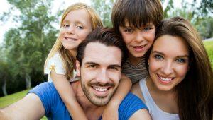 Happy family image